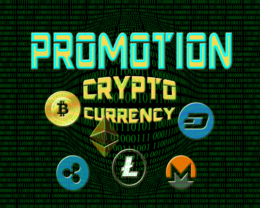 I will promote your CRYPTOcurrency  website