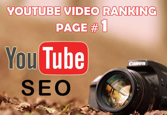 I will skyrocket YOUTUBE video ranking on Page One