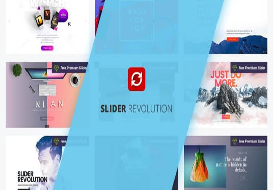 I will create revolution or layer slider of your wordpress website