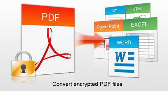 I will convert pdf to excel, word, powerpoint etc