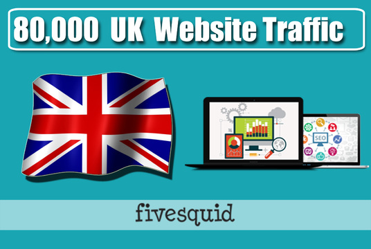 I will Give you 80,000 UK Website Traffic