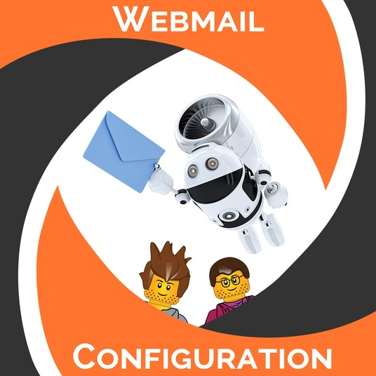 I will configure webmail for your custom domain
