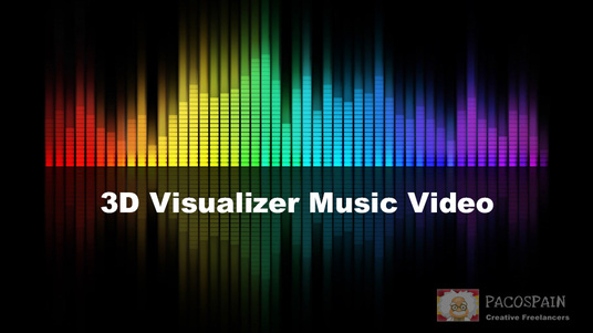 create a 3D music video
