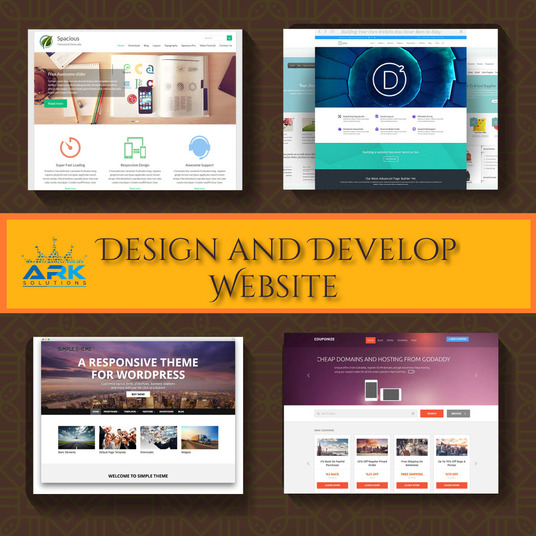 I will Design And Develop Responsive Website