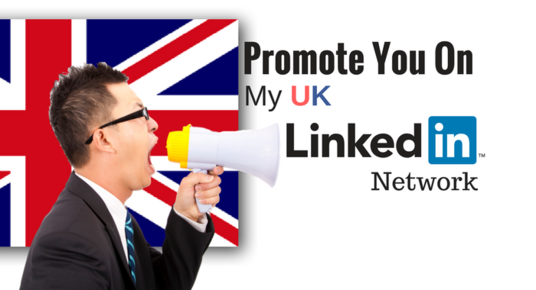 I will Promote Your Content On My 3000 UK Linkedin Network
