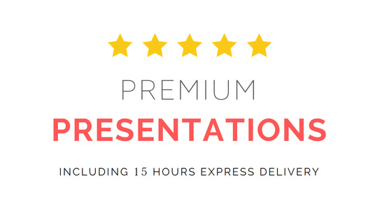 I will create a stunning presentation