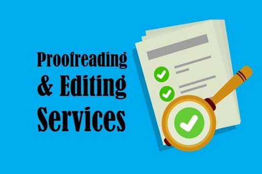 be your professional proofreader and editor (up to 5000 words)