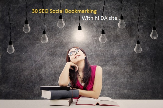 I will create 30 manually  SEO backlinks social bookmark