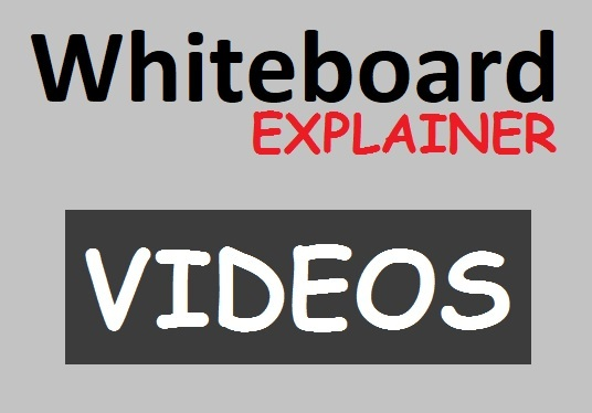 create Whiteboard animated Explainer Video
