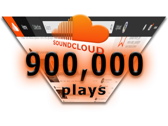 I will give you 900,000 HQ SoundCloud Plays