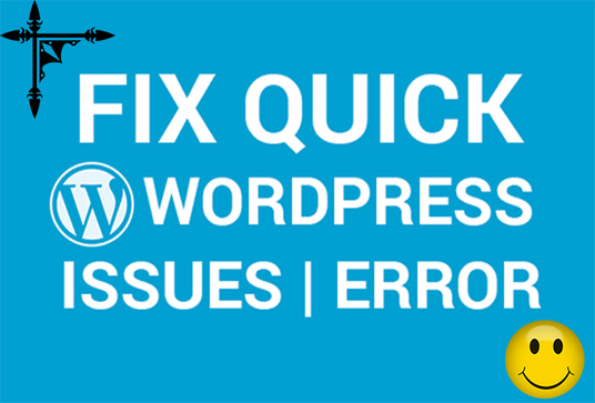 I will Fix Wordpress Website Problems And Issues And Errors