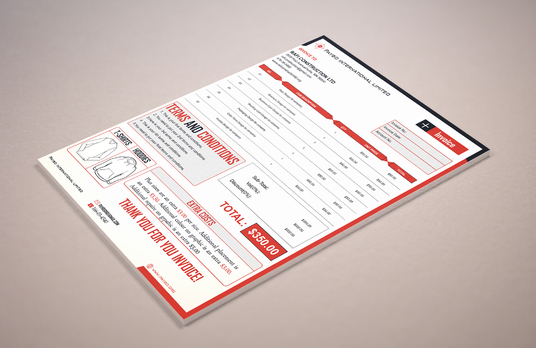 I will design amazing invoice for your business