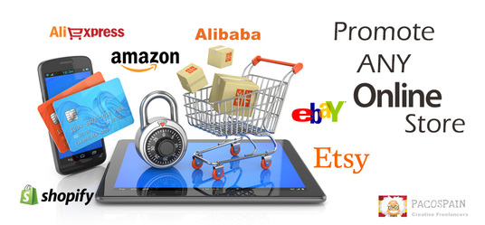 I will Promote any online store like Amazon, eBay, Etsy, Shopify etc