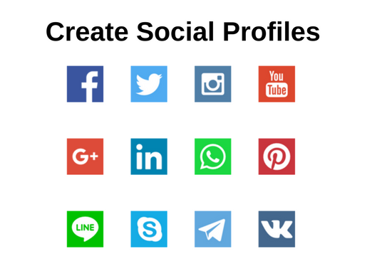 I will Create 50+ Social Media Profiles
