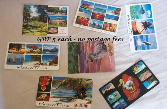 I will send you a postcard from Mauritius