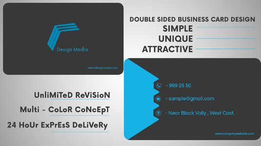 Design an outstanding business card for £5 : 0071 - fivesquid