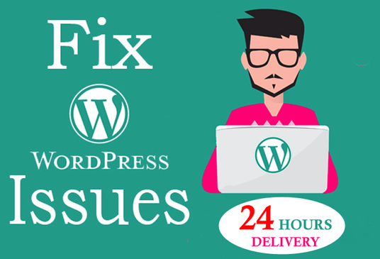 I will Fix WORDPRESS Issues, Errors and Bugs in 24 hours