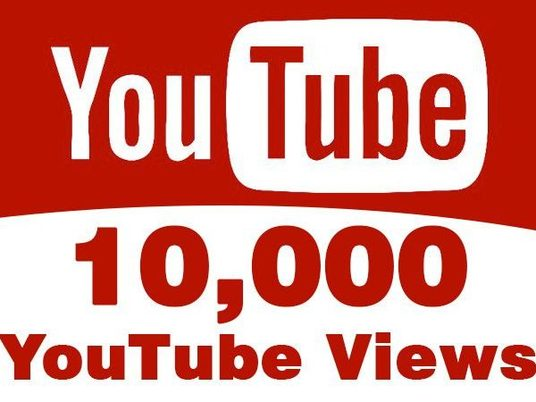 I will get you 10000 youtube views