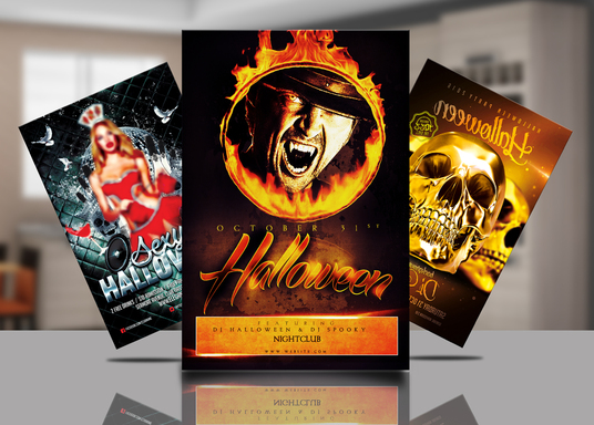 I will do Halloween flyer or poster