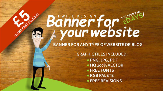 i will create a website banner ad