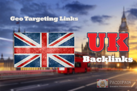 I will create 100 backlinks on CO UK blog domains - GEO TARGETING
