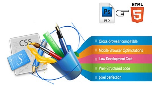 I will convert PSD to HTML CSS