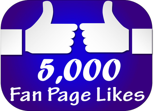 I will Give you 5000 Facebook likes for your fanpage