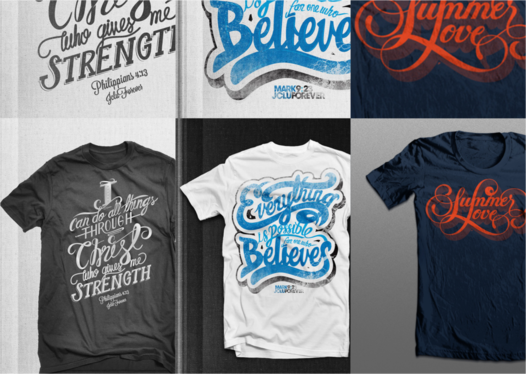 Create Awesome T Shirt Design in 24 hours