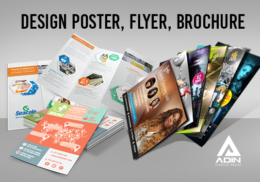 I will Design Poster, Flyer, Brochure