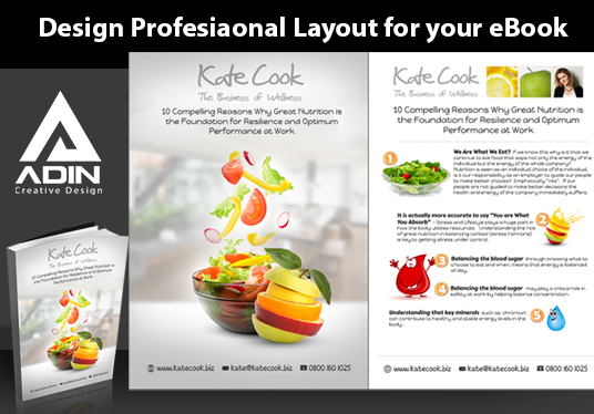I will Layout Design Your eBook