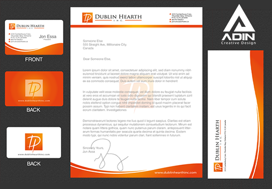 I will Design LetterHead or Envelope or Name Card Ready Print