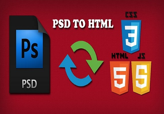 I will convert any psd file to web page