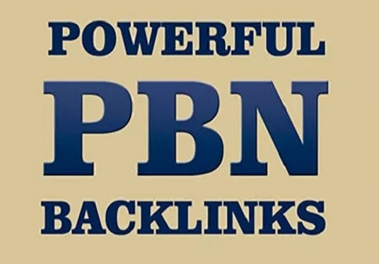 I will Create 50 Permanent Pbn Posts On High Trust Flow Domains