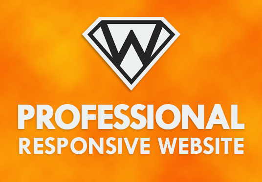 I will create a professional responsive website