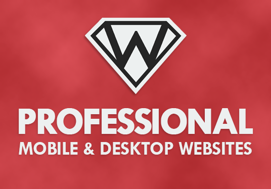 I will create a professional website using a template of your choice