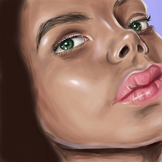 I will paint a digital portrait for you
