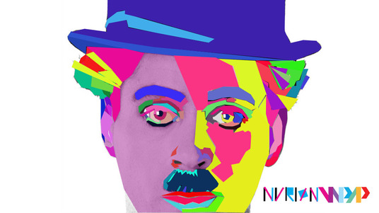 I will create Wedha's Pop Art Potrait (WPAP) style from your photo