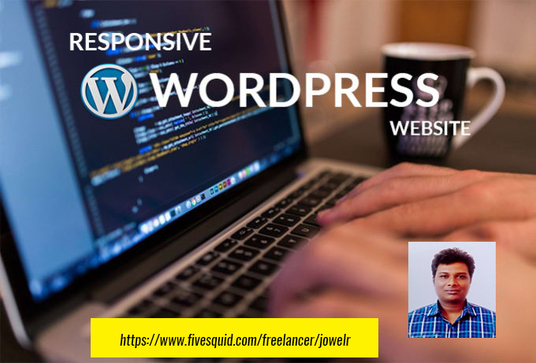 I will Design And Develop Responsive Wordpress Website and Make Professional
