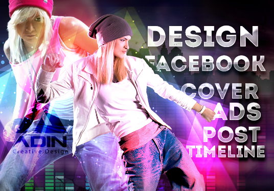I will design uniqueFacebook cover, timeline, ads, post FOR fan page, group or personal profile