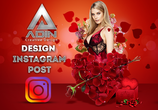 I will design Instagram Image Post