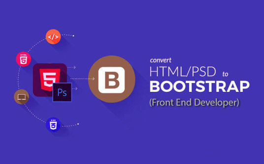I will Design Fully Responsive Html Website With Bootstrap or Zurb Foundation
