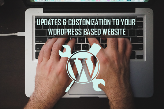 I will do 2 hour of updates/ customization to your Wordpress based website