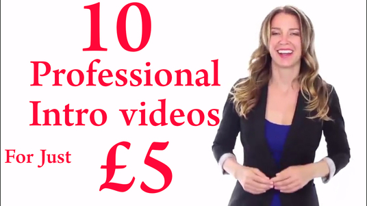 Create 10 Professional Into Video Logo Animations