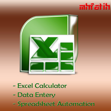 Do an automated spreadsheet, data entry and Excel calculator in 24 hours  for £10 : mhfatih - fivesquid