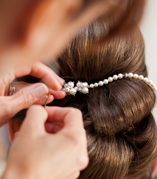 I will provide you with a bridal hair consultation service