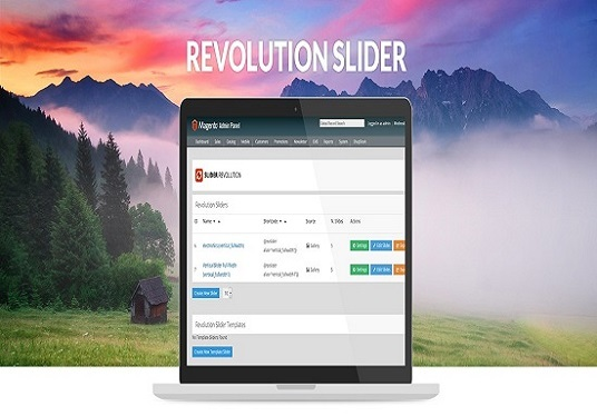 I will create or fix amazing revolution slider for you