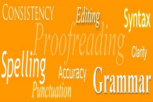 I will proofread and edit any content you write (up to 1000 words)