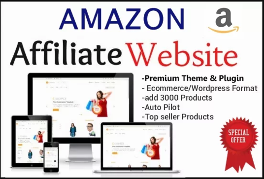 I will create an autopilot Amazon affiliate store