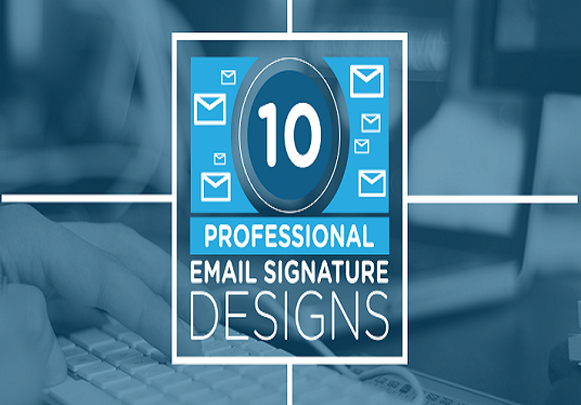 create HTML Email Signature from one of our templates