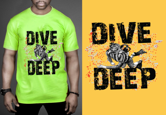 I will Create An Awesome Custom Typographic Tshirt Design